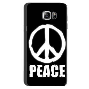 Samsung Galaxy Note 6 Mobile Covers Cases Peace Sign In White - Lowest Price - Paybydaddy.com