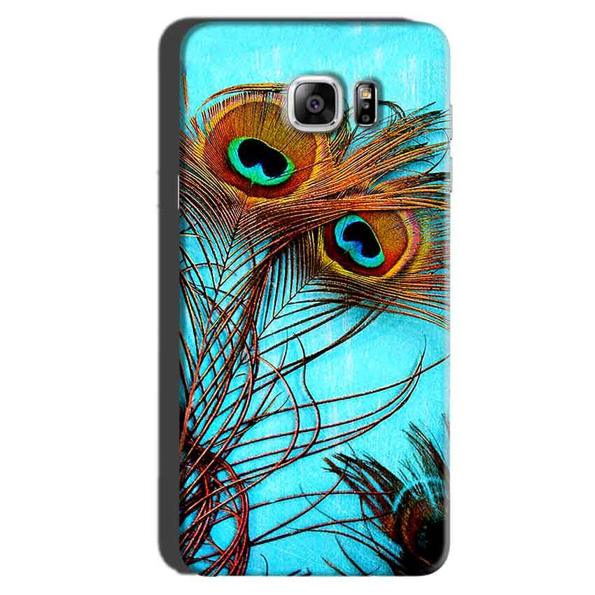 Samsung Galaxy Note 6 Mobile Covers Cases Peacock blue wings - Lowest Price - Paybydaddy.com