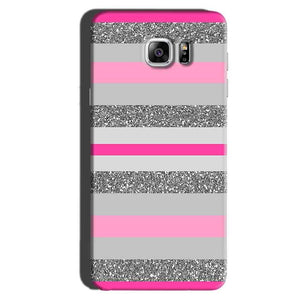 Samsung Galaxy Note 6 Mobile Covers Cases Pink colour pattern - Lowest Price - Paybydaddy.com