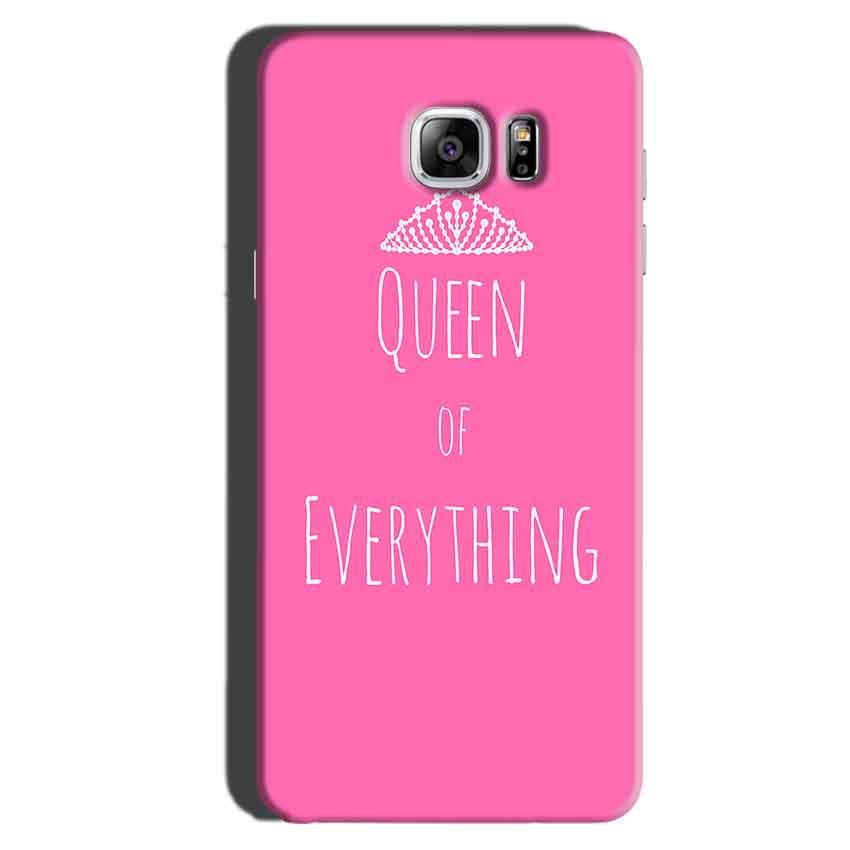 Samsung Galaxy Note 6 Mobile Covers Cases Queen Of Everything Pink White - Lowest Price - Paybydaddy.com
