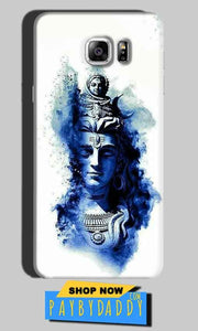 Samsung Galaxy Note 6 Mobile Covers Cases Shiva Blue White - Lowest Price - Paybydaddy.com