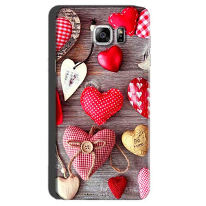 Samsung Galaxy Note 7 Mobile Covers Cases Hearts- Lowest Price - Paybydaddy.com