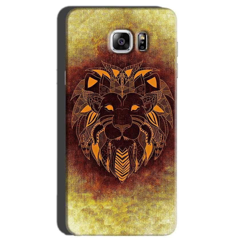 Samsung Galaxy Note 7 Mobile Covers Cases Lion face art - Lowest Price - Paybydaddy.com