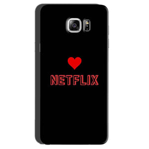 Samsung Galaxy Note 7 Mobile Covers Cases NETFLIX WITH HEART - Lowest Price - Paybydaddy.com