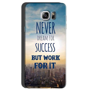 Samsung Galaxy Note 7 Mobile Covers Cases Never Dreams For Success But Work For It Quote - Lowest Price - Paybydaddy.com