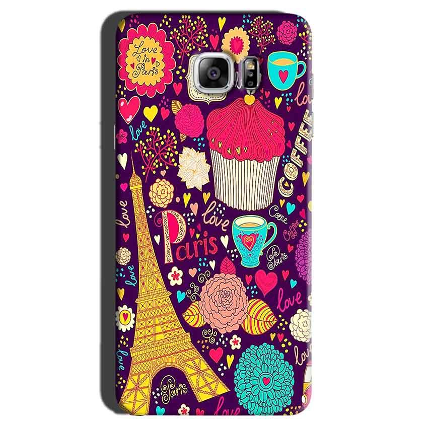 Samsung Galaxy Note 7 Mobile Covers Cases Paris Sweet love - Lowest Price - Paybydaddy.com