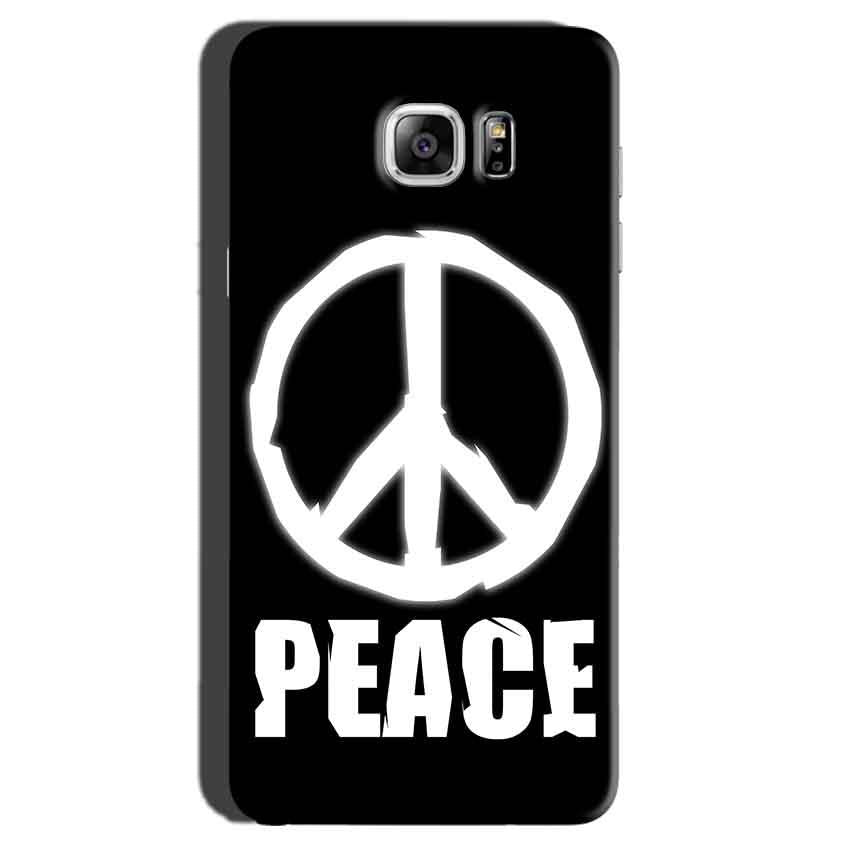 Samsung Galaxy Note 7 Mobile Covers Cases Peace Sign In White - Lowest Price - Paybydaddy.com