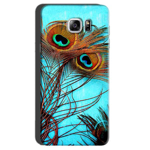 Samsung Galaxy Note 7 Mobile Covers Cases Peacock blue wings - Lowest Price - Paybydaddy.com
