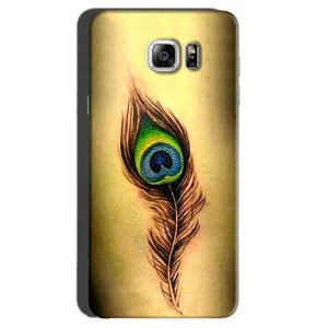 Samsung Galaxy Note 7 Mobile Covers Cases Peacock coloured art - Lowest Price - Paybydaddy.com