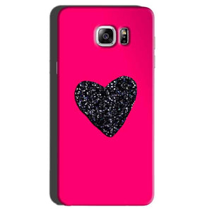Samsung Galaxy Note 7 Mobile Covers Cases Pink Glitter Heart - Lowest Price - Paybydaddy.com