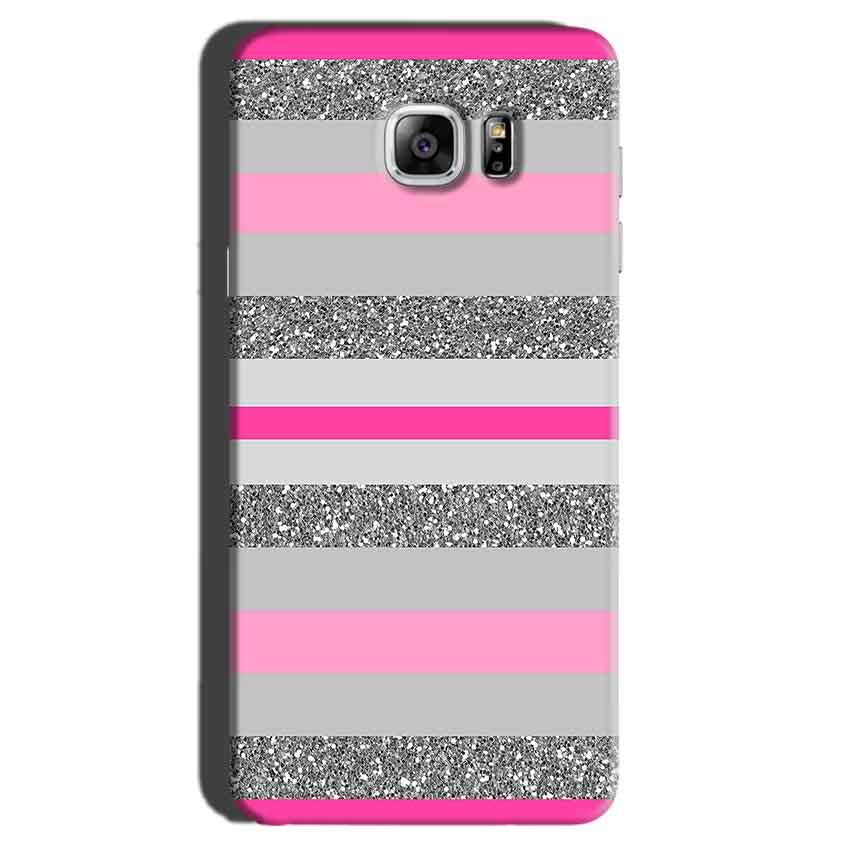 Samsung Galaxy Note 7 Mobile Covers Cases Pink colour pattern - Lowest Price - Paybydaddy.com