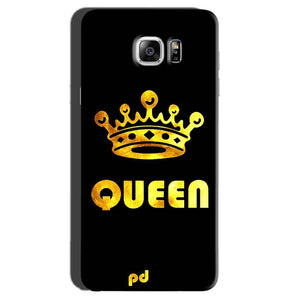 Samsung Galaxy Note 7 Mobile Covers Cases Queen With Crown in gold - Lowest Price - Paybydaddy.com