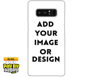 Customized Samsung Galaxy Note 8 Mobile Phone Covers & Back Covers with your Text & Photo