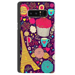 Samsung Galaxy Note 8 Mobile Covers Cases Paris Sweet love - Lowest Price - Paybydaddy.com