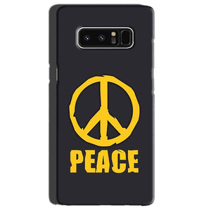 Samsung Galaxy Note 8 Mobile Covers Cases Peace Blue Yellow - Lowest Price - Paybydaddy.com
