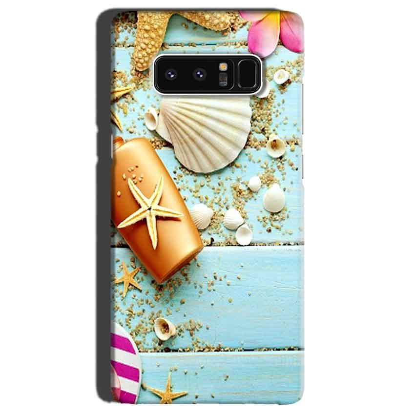 Samsung Galaxy Note 8 Mobile Covers Cases Pearl Star Fish - Lowest Price - Paybydaddy.com