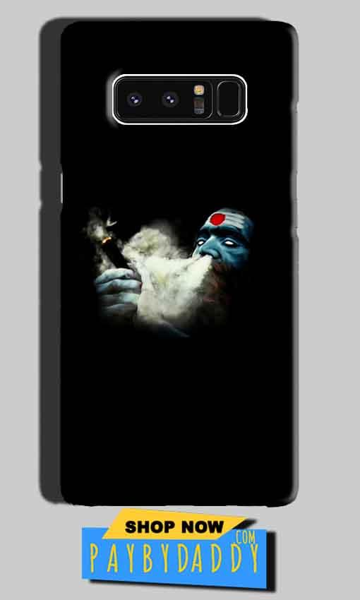 Samsung Galaxy Note 8 Mobile Covers Cases Shiva Aghori Smoking - Lowest Price - Paybydaddy.com