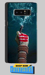 Samsung Galaxy Note 8 Mobile Covers Cases Shiva Hand With Clilam - Lowest Price - Paybydaddy.com