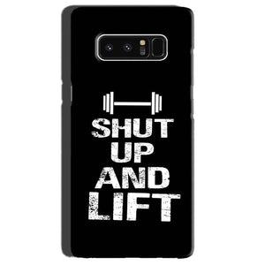Samsung Galaxy Note 8 Mobile Covers Cases Shut Up And Lift - Lowest Price - Paybydaddy.com