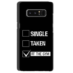 Samsung Galaxy Note 8 Mobile Covers Cases Single Taken At The Gym - Lowest Price - Paybydaddy.com