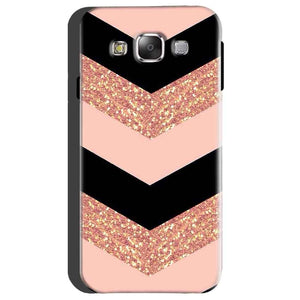 Samsung Galaxy On5 Mobile Covers Cases Black down arrow Pattern - Lowest Price - Paybydaddy.com