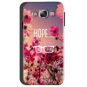 Samsung Galaxy On5 Mobile Covers Cases Hope in the Things Unseen- Lowest Price - Paybydaddy.com