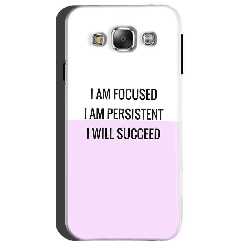 Samsung Galaxy On5 Mobile Covers Cases I am Focused - Lowest Price - Paybydaddy.com