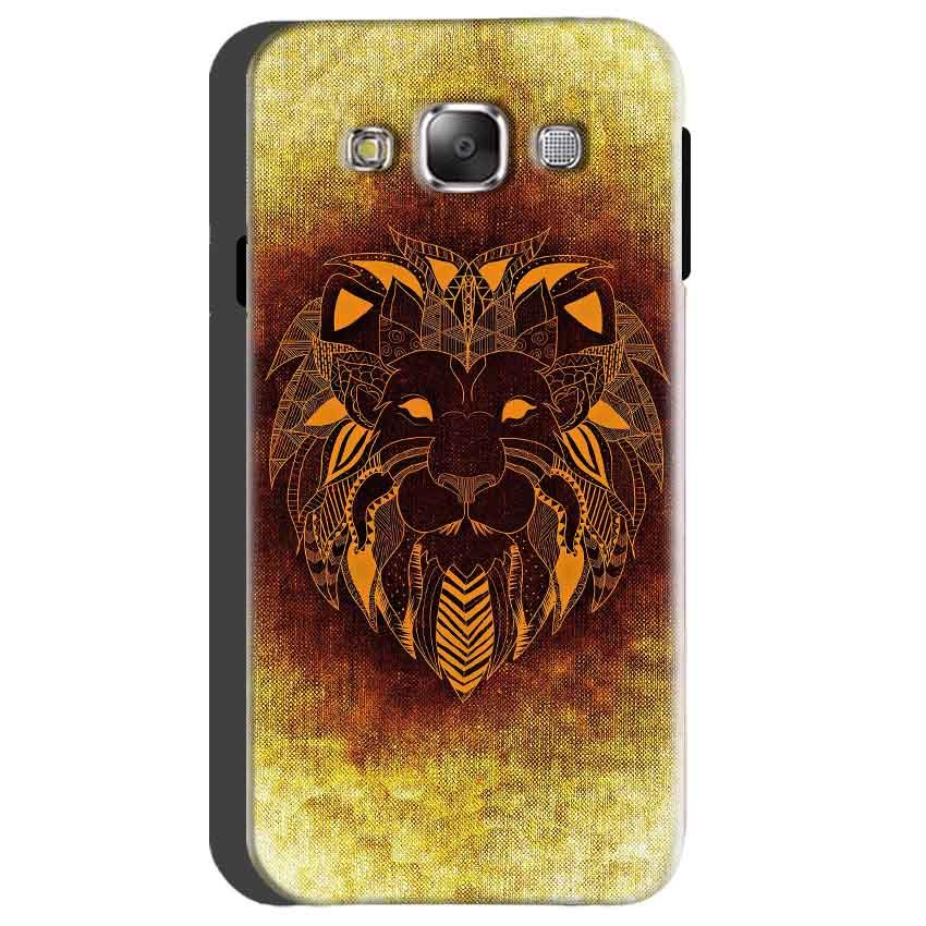 Samsung Galaxy On5 Mobile Covers Cases Lion face art - Lowest Price - Paybydaddy.com