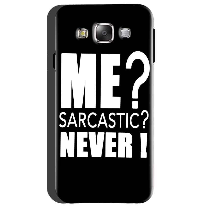 Samsung Galaxy On5 Mobile Covers Cases Me sarcastic - Lowest Price - Paybydaddy.com