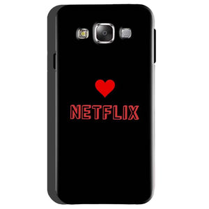 Samsung Galaxy On5 Mobile Covers Cases NETFLIX WITH HEART - Lowest Price - Paybydaddy.com
