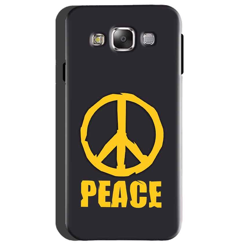 Samsung Galaxy On5 Mobile Covers Cases Peace Blue Yellow - Lowest Price - Paybydaddy.com