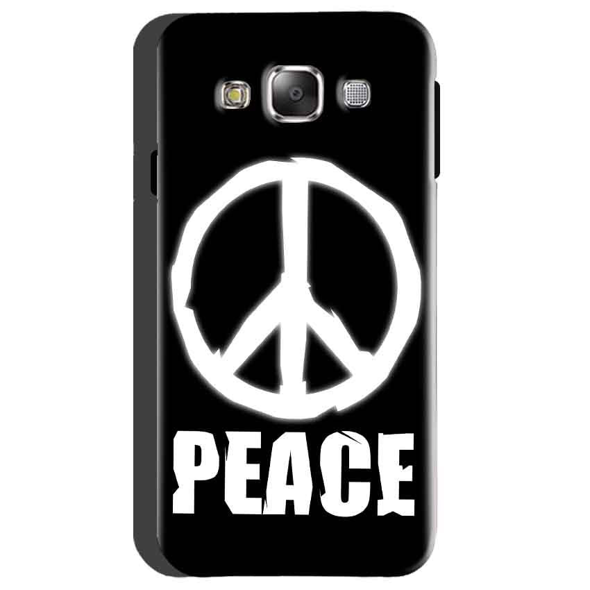 Samsung Galaxy On5 Mobile Covers Cases Peace Sign In White - Lowest Price - Paybydaddy.com