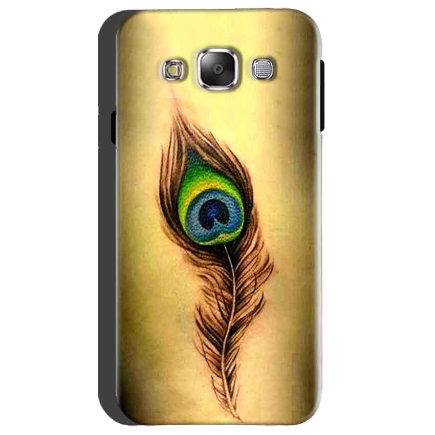 Samsung Galaxy On5 Mobile Covers Cases Peacock coloured art - Lowest Price - Paybydaddy.com