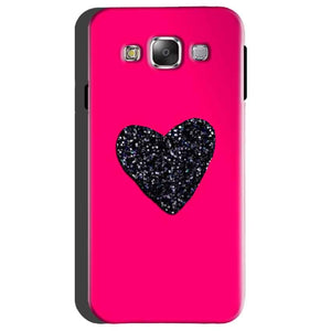 Samsung Galaxy On5 Mobile Covers Cases Pink Glitter Heart - Lowest Price - Paybydaddy.com