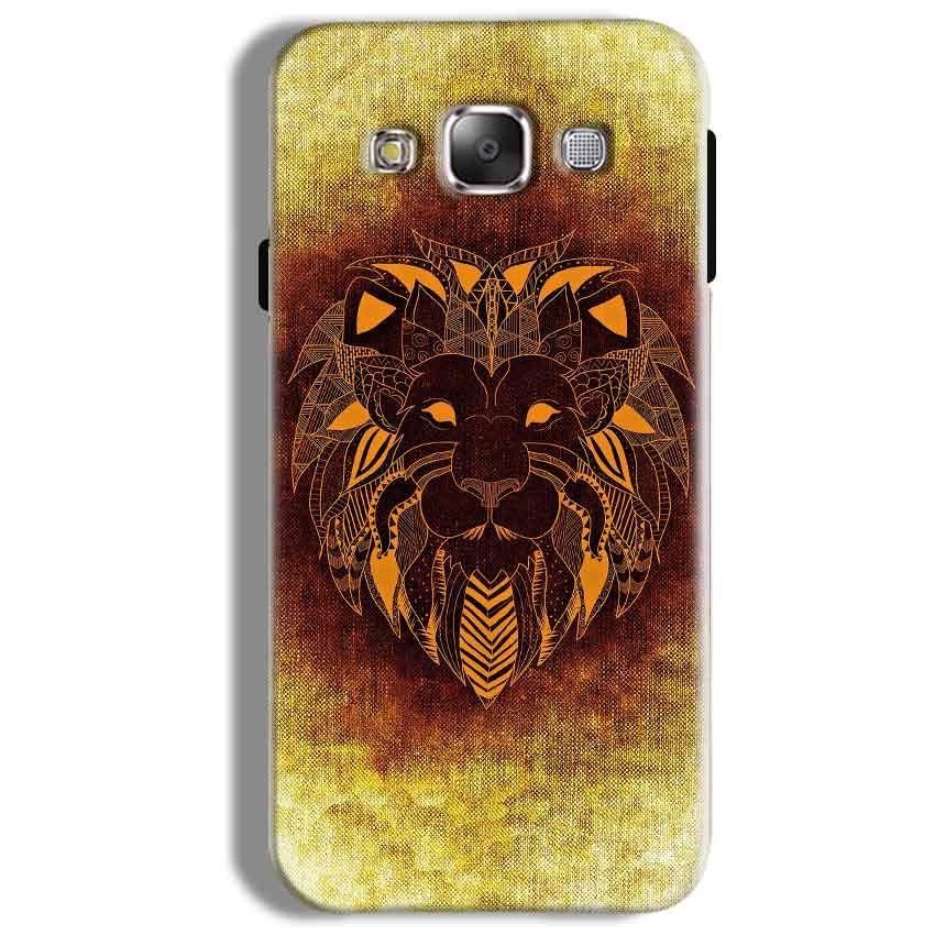 Samsung Galaxy On5 Pro Mobile Covers Cases Lion face art - Lowest Price - Paybydaddy.com