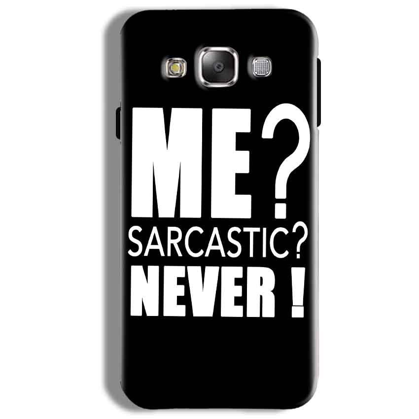 Samsung Galaxy On5 Pro Mobile Covers Cases Me sarcastic - Lowest Price - Paybydaddy.com
