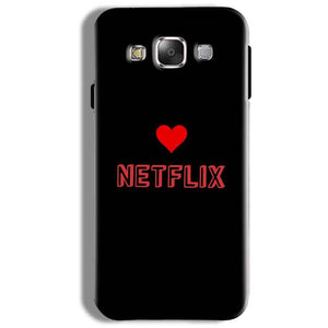 Samsung Galaxy On5 Pro Mobile Covers Cases NETFLIX WITH HEART - Lowest Price - Paybydaddy.com