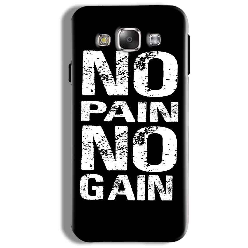 Samsung Galaxy On5 Pro Mobile Covers Cases No Pain No Gain Black And White - Lowest Price - Paybydaddy.com