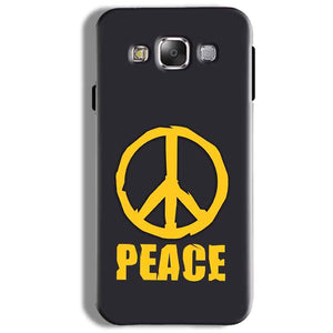 Samsung Galaxy On5 Pro Mobile Covers Cases Peace Blue Yellow - Lowest Price - Paybydaddy.com