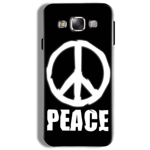 Samsung Galaxy On5 Pro Mobile Covers Cases Peace Sign In White - Lowest Price - Paybydaddy.com