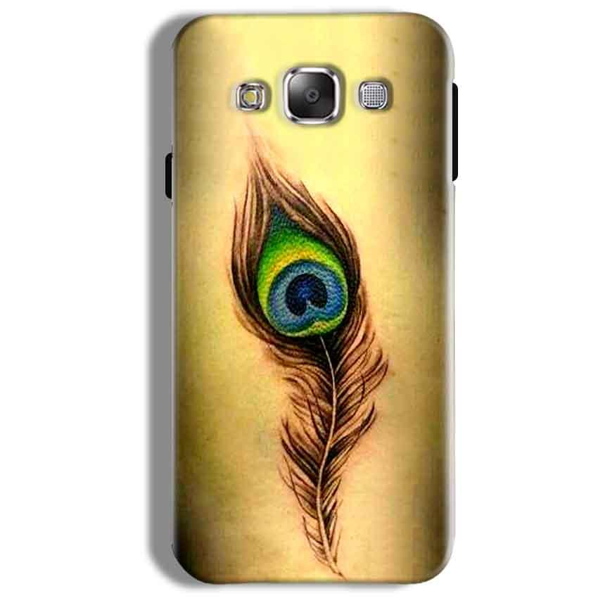 Samsung Galaxy On5 Pro Mobile Covers Cases Peacock coloured art - Lowest Price - Paybydaddy.com