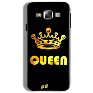 Samsung Galaxy On5 Pro Mobile Covers Cases Queen With Crown in gold - Lowest Price - Paybydaddy.com
