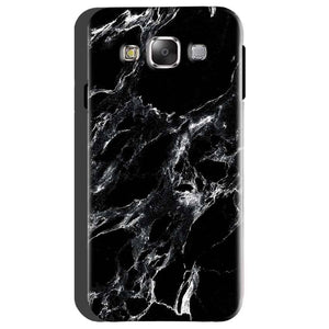 Samsung Galaxy On5 Mobile Covers Cases Pure Black Marble Texture - Lowest Price - Paybydaddy.com