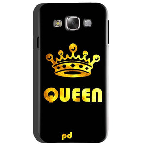 Samsung Galaxy On5 Mobile Covers Cases Queen With Crown in gold - Lowest Price - Paybydaddy.com