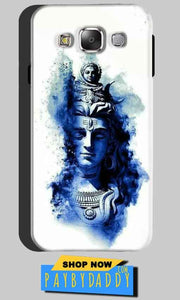 Samsung Galaxy On5 Mobile Covers Cases Shiva Blue White - Lowest Price - Paybydaddy.com
