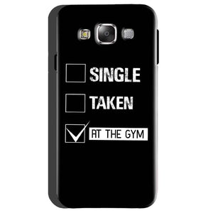 Samsung Galaxy On5 Mobile Covers Cases Single Taken At The Gym - Lowest Price - Paybydaddy.com