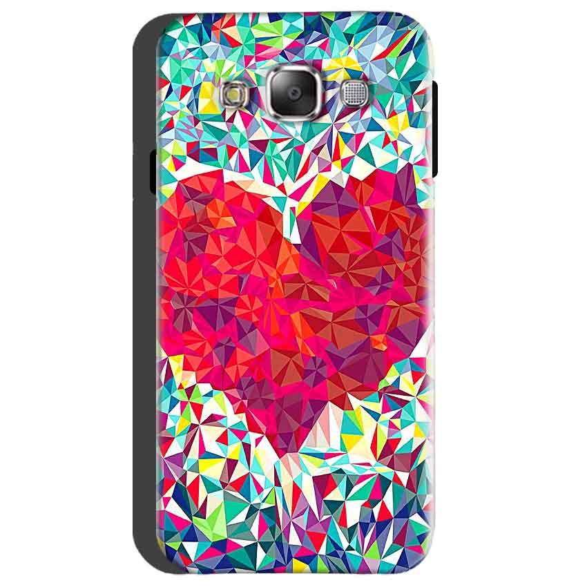 Samsung Galaxy On5 Mobile Covers Cases heart Prisma design - Lowest Price - Paybydaddy.com