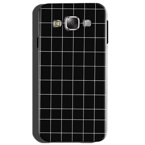 Samsung Galaxy On7 Mobile Covers Cases Black with White Checks - Lowest Price - Paybydaddy.com