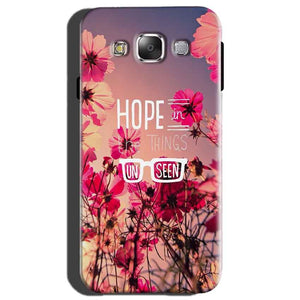 Samsung Galaxy On7 Mobile Covers Cases Hope in the Things Unseen- Lowest Price - Paybydaddy.com