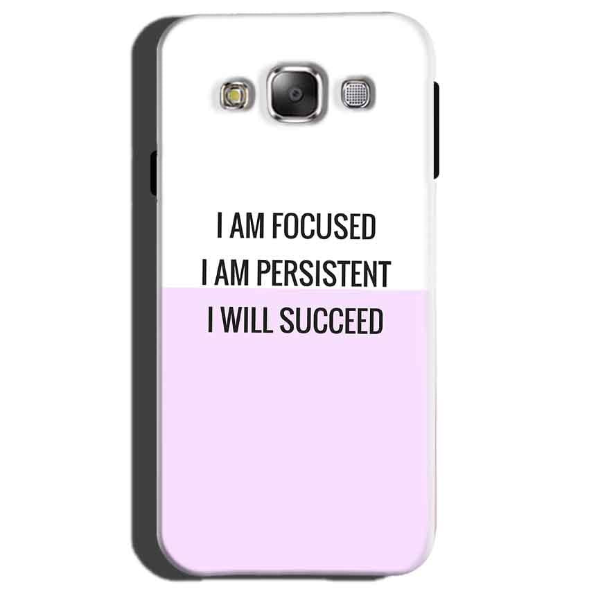 Samsung Galaxy On7 Mobile Covers Cases I am Focused - Lowest Price - Paybydaddy.com